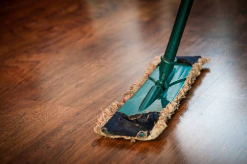 Clean Wet or Sticky Messes Immediately