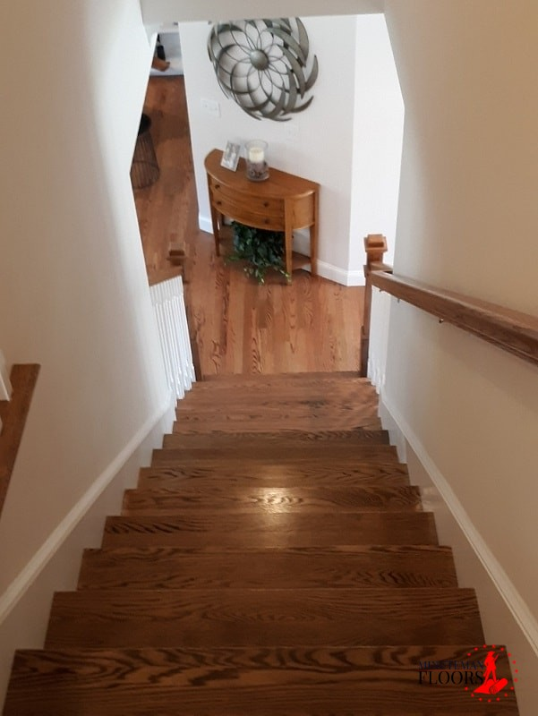 Installing Hardwood Stairs