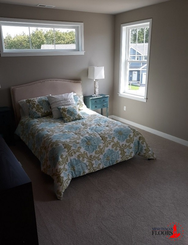 Installing Carpet in Bedroom