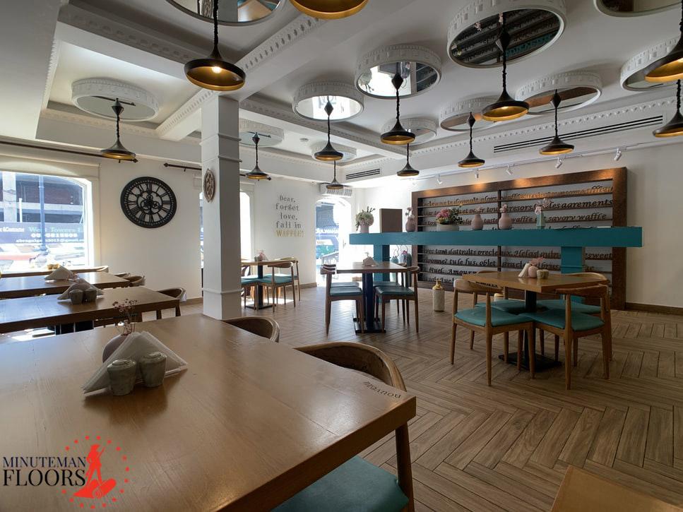 Hardwood Flooring is Best for Your Restaurant