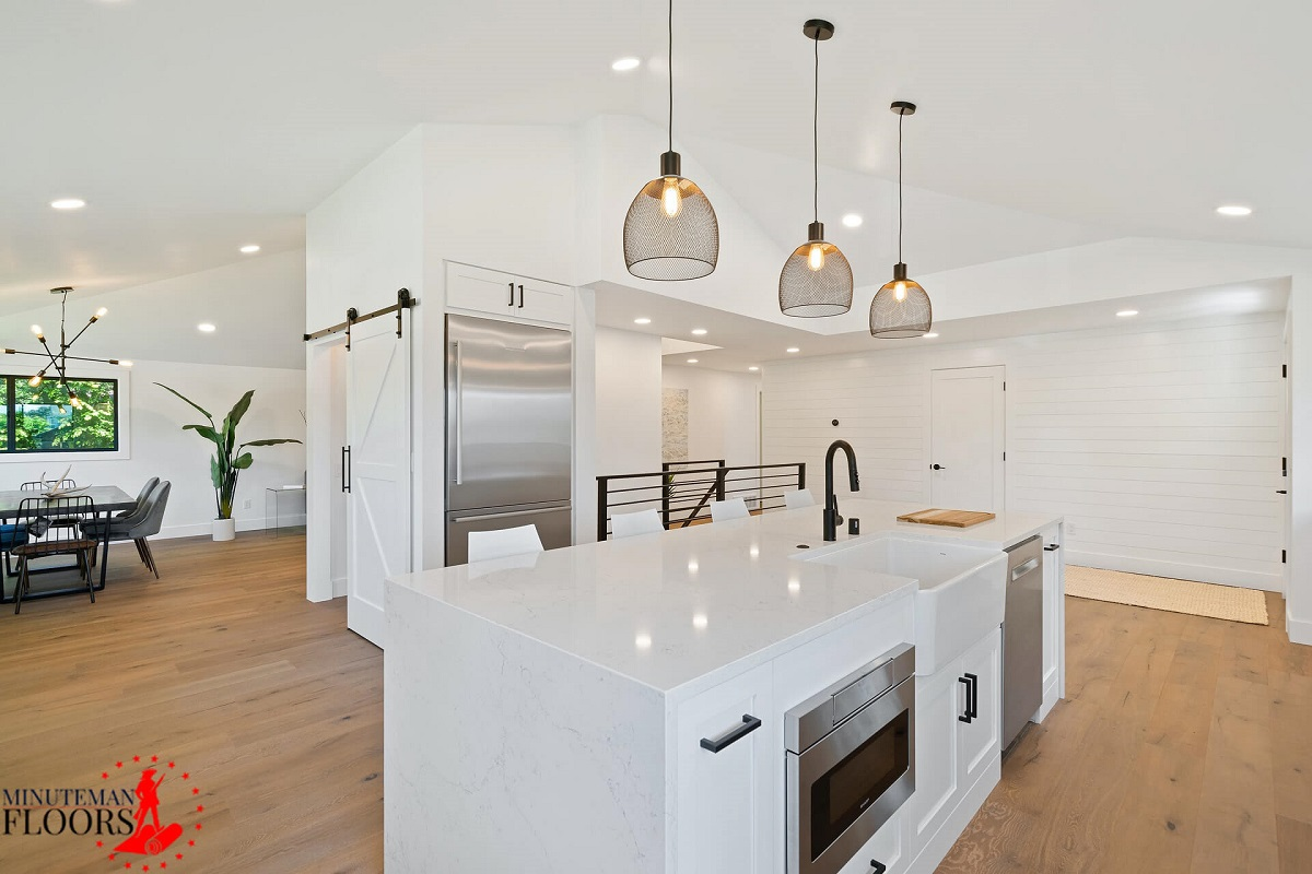 Hardwood flooring for kitchen-Manchester NH
