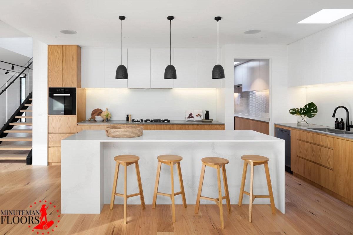 Luxury vinyl flooring for kitchen-Manchester NH