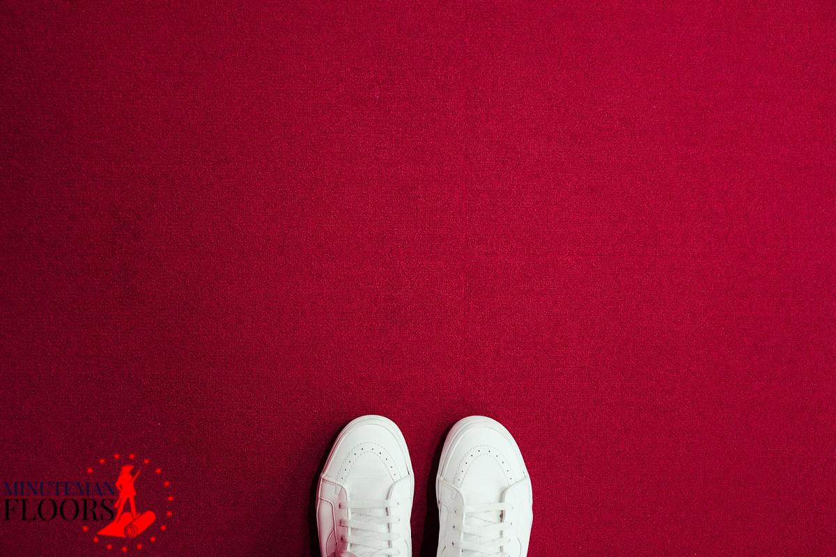 Carpet Installation on Hardwood Floor